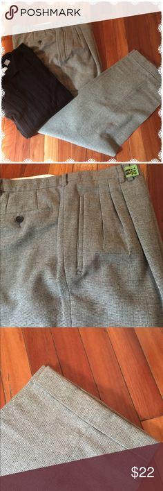 Ravazzolo Wool Slacks Very nice Racazzolo 100% Wool slacks. Front pleats and cuffed legs.Made in Italy. Waist 40 Length 33. EUC Ravazzolo Pants Dress