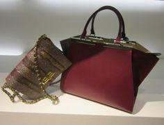 Bags by @fendiofficial #Fendi #baguette #2Jours #bag #FolliFollie #FW14collection