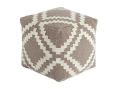 The Poufs Geometric - Gray Pouf by Signature Design by Ashley at Olinde's Furniture in the Baton Rouge and Lafayette, Louisiana area. Product availability may vary. Contact us for the most current availability on this product.