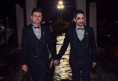 Πρώτη επέτειος γάμου για τον Μάριο Φρίξου και τον Φάνο Ελευθεριάδη - Ποιος τραγουδιστής τους έκανε αφιέρωση από την πίστα;