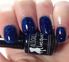 Aliquid Lacquer Devouring Wave Swatches