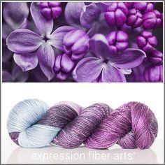 Expression Fiber Arts Passion for Purple--I think I'm in love!!