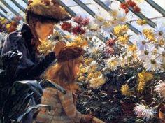 Chrysanthemums [Charles Courtney Curran - 1890]
