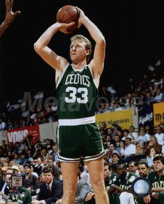 911810649 Larry Bird- hall of famer and one the best shooter alive Larry Bird