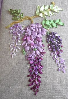 Wonderful Ribbon Embroidery Flowers by Hand Ideas. Enchanting Ribbon Embroidery Flowers by Hand Ideas. Embroidery Stitches Tutorial, Types Of Embroidery, Learn Embroidery, Rose Embroidery, Silk Ribbon Embroidery, Embroidery For Beginners, Hand Embroidery Patterns, Embroidery Kits, Embroidery Designs