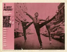 West Side Story, LOVE this musical. The BEST!