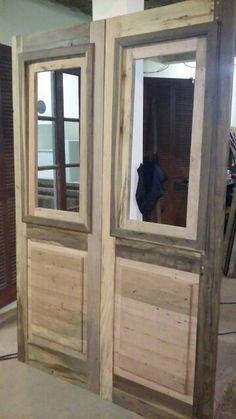 Porta madeira de demoliçao