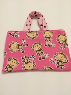 Cheeky Monkey - Toddler Tote, $15.00