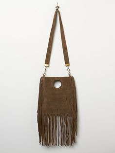 Ramy Brook Fortune Fringe Crossbody at Free People Clothing Boutique