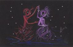 Date Night......Fairies and Aliens 39 by DawnFairies on Etsy