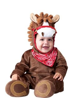 Baby Playful Pony Costume Deluxe - Party City