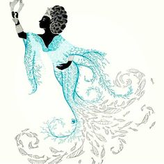 Filha do rei ♥ — irieli:   #Yemanja ♡ Orisha, Black Mermaid, Mermaid Art, African American Art, African Art, African Mythology, African Colors, Weird Dreams, Crazy Dreams