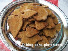 """biscuits de Noël sans gluten - coeur, cloche,étoile filante en gateau sablé (""""bredala"""" alsacien)"""
