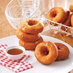 Baked donuts – Caty's recipes - Modern Baked Donut Recipes, Baked Donuts, Doughnuts, Clean Recipes, Cooking Recipes, Easy Desserts, Dessert Recipes, Confort Food, Bon Dessert