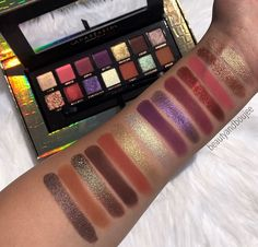 Anastasia Beverly Hills Palette, Anastasia Palette, Makeup Palette, Eyeshadow Palette, Glitter Eye Palette, Kiss Makeup, Beauty Makeup, Eyeshadow Makeup, Makeup Cosmetics