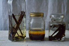 Hausgemacht, selbstgemacht, Vanille, Extrakt, mit Alkohol, ohne Alkohol, Vanilleextrakt, Glycerin, Wodka, Vodka, 70 %,