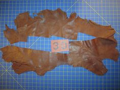 Lambskin Leather in Medium Brown No. 30 by CrisMichaelsCreation, $8.00