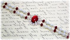 Medieval Bracelet - Renaissance Jewelry - Medieval Jewelry - Pearl Bracelet, Tudor Jewelry, Gothic Jewelry, SCA. $23.00, via Etsy.