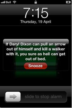 I am actually changing my alarm to this. Right now. Done.