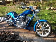 2010 Honda FURY Cruiser , Blue, 5,500 miles for sale in Butler, PA