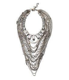 Cascade Layered Necklace from Henri Bendel @HenriBendel
