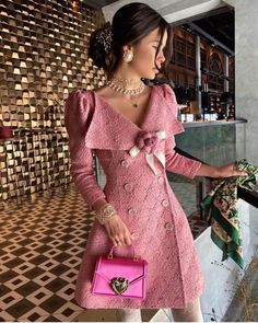 Elegant Outfit, Classy Dress, Classy Outfits, Elegant Dresses, Pretty Outfits, Stylish Outfits, Elegantes Outfit Frau, Vetement Fashion, Look Vintage