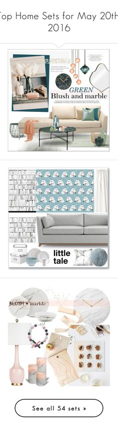 """""""Top Home Sets for May 20th, 2016"""" by polyvore ❤ liked on Polyvore featuring interior, interiors, interior design, home, home decor, interior decorating, Lene Bjerre, Tom Dixon, Bloomingville and Blu Dot"""