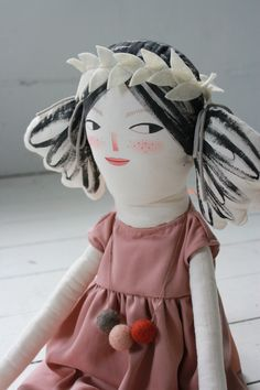 Summer Solstice Sisters: New Dolls in the Shop