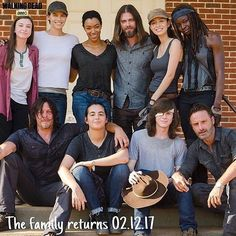 The family returns in two months. #TWD #TheWalkingDead