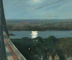 Edward Hopper (American, 1882-1967), Blackwell's Island, 1911. Oil on canvas, 24…