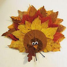 papier collage feuilles automne