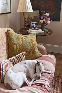 kyneton cottage - photography Simon Griffths, styling Indianna Foord. whippet, english roll arm sofa