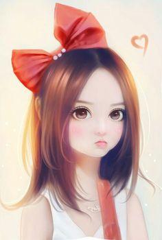 Imagen de art, girl, and illustration. Cute Cartoon Girl, Cartoon Art, Cute Girl Drawing, Cute Drawings, Girl Pose, Art Pastel, Girly M, Lovely Girl Image, Arte Sketchbook
