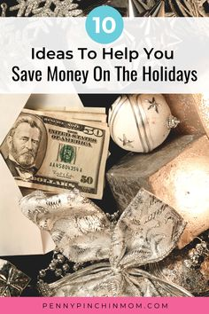 Here are some practical ways to get through the holidays and still save money. Best Money Saving Tips, Ways To Save Money, Money Tips, Saving Money, Christmas On A Budget, Christmas Ideas, Create A Budget, Managing Your Money, Frugal Living Tips