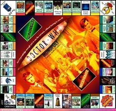 Doctor Who Monopoly - possibly the only version that would entice me to play this game.