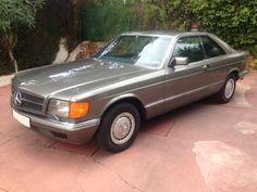 1982 Mercedes Benz 380 SEC in Grey Anthracite
