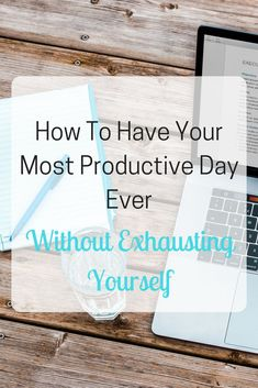 Think that being productive is all about being busy? Think again. This latest blog post is all about how to be super productive whilst simultaneously looking after yourself.