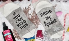 Awesome gift from mary kay canada ! These socks are everything ! Mary Kay Canada, Best Gifts, Socks, Awesome, Beauty, Sock, Stockings, Beauty Illustration, Ankle Socks