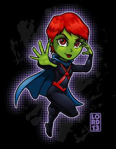 Young Justice Invasion- Ms. Martian by lordmesa.deviantart.com on @deviantART