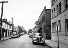 Lansdale, Pennsylvania - The town in which I was born. It wasn't as long ago as this photo though!
