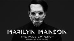 "Marilyn Manson  "" The pale Emperor""  Chronique #marilynManson"