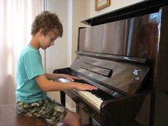 Out of the Darkness. Original composition by Adam Kulju (10 years old)
