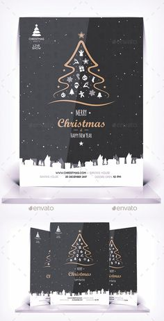 Christmas Flyer – Flyers Print Templates – About Graphic Design Web Design, Logo Design, Flyer Design, Christmas Flyer Template, Christmas Templates, Design Poster, Graphic Design Print, Poster Designs, Christmas Graphic Design
