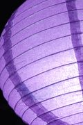 "Paper Lanterns 12"" Lavender Glitter Round  $5 each / 6 for $4.50 each"