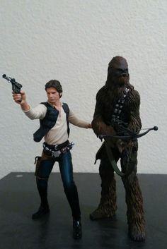 Han Solo & Chewbacca - Kotobukiya 1/10