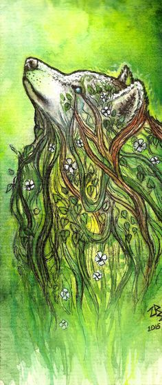 The Plant Spirit by zarielcharoitite.deviantart.com on @DeviantArt