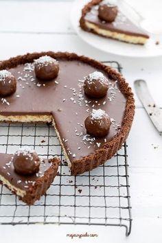 Tart Recipes, Sweet Recipes, Dessert Recipes, Sweet Pie, Sweet Tarts, Yummy Treats, Delicious Desserts, Yummy Food, Chocolate Desserts
