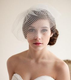 New Style Birdcage Veils -- Diamond Mesh Network And Strengthen Soft, $8.38 | DHgate.com