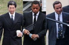 See Cuba Gooding Jr., John Travolta and the Rest of the 'American Crime Story' Cast Beside the People They're Portraying! People Vs Oj Simpson, The People Vs Oj, American Crime Story, John Travolta, Celebs, Celebrities, Celebrity News, Cuba, Closer