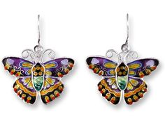 Zarah DESIGNER BUTTERFLY (Item No. 61-25-01) - jewelry designed by artist Teresa Starkweather